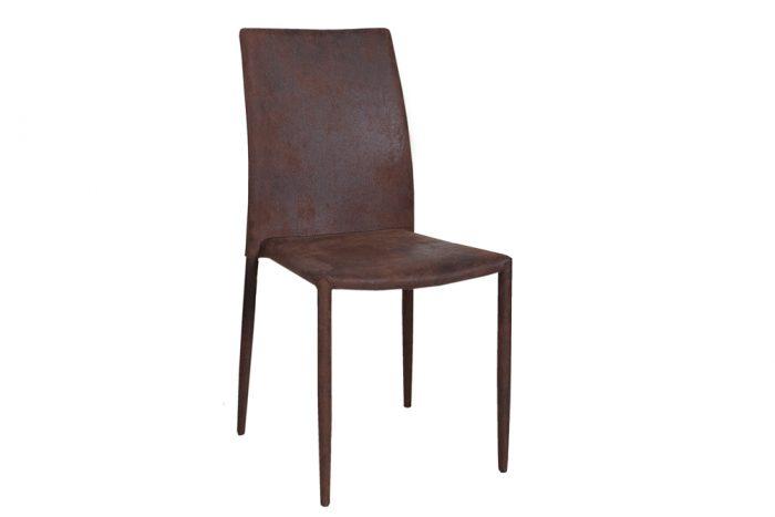 Ekskluzywne krzesło tapicerowane Milano Antique Brown