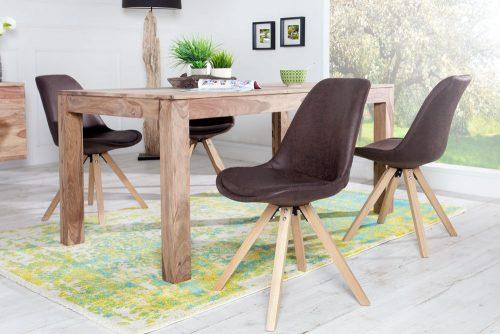 Krzesło Scandinavia Antique Brow skandynawskie