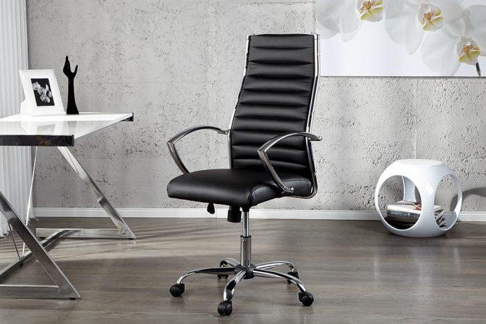 Designerski fotel biurowy Big Deal czarny
