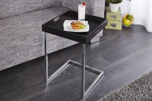 Stolik do salonu CIANO czarny z ponadczasowym designem