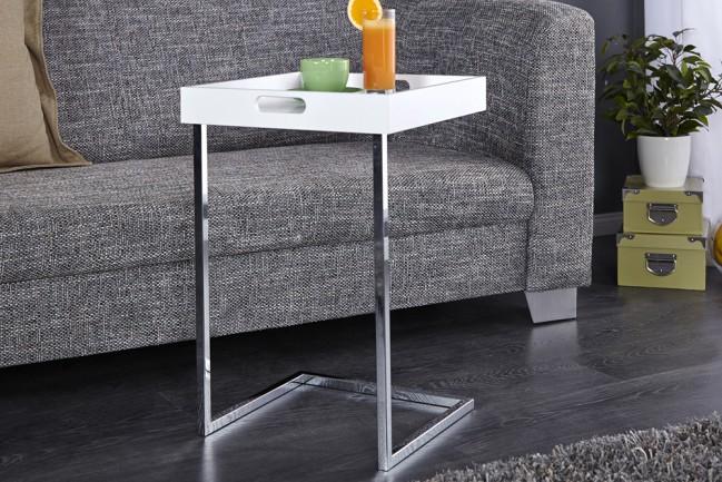 Stolik do salonu CIANO biały z ponadczasowym designem