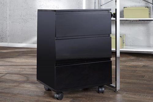 Nowoczesny drewniany kontener Big Deal Black