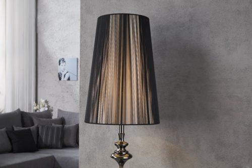 Lampa podłogowa Lucie czarna 160cm