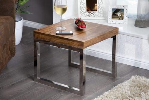 Nowczesny drewniany stolik do salonu ELEMENTS