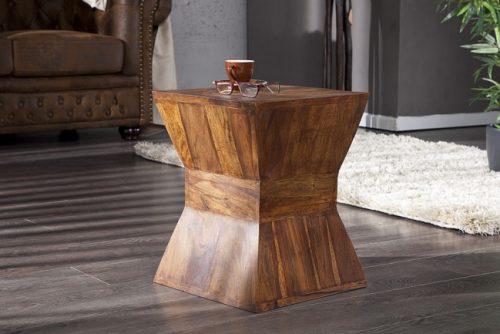 Stolik kawowy PYRAMID 35 drewno