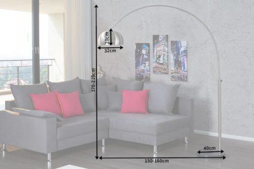 Lampa podłogowa Lounge Deal matowa
