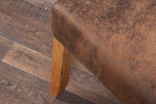 Krzesło kolonialne Valentino Light  Coffee