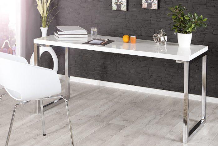 Biurko White Desk 140 cm