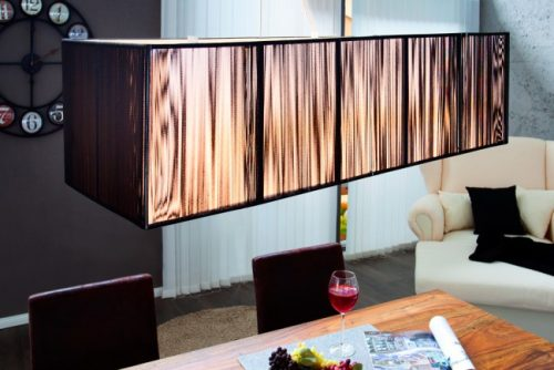 Nowoczesna lampa wisząca do salonu Extenso