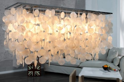 Nowoczesna lampa wisząca Shell Reflections