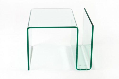 Szklany stolik Ghost 50cm