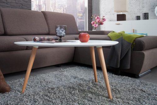 Elegancki stolik kawowy do salonu Scandinavia 75cm