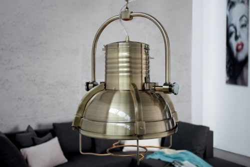 Nowoczesna lampa wisząca do salonu Industrielampe