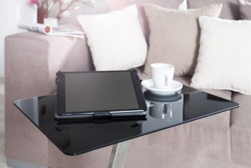 Stolik pod laptopa TABLET LAPTOP BUTLER czarny