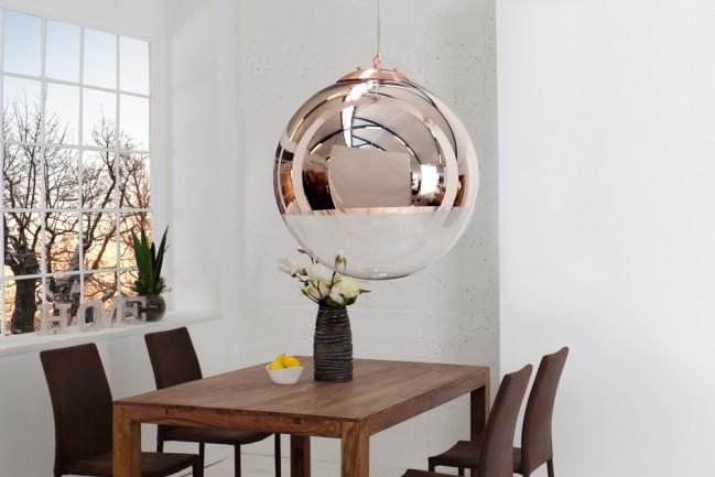 Nowoczesna lampa wisząca do salonu Globe