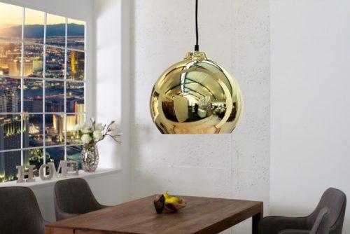 Nowoczesna lampa wisząca Golden Ball