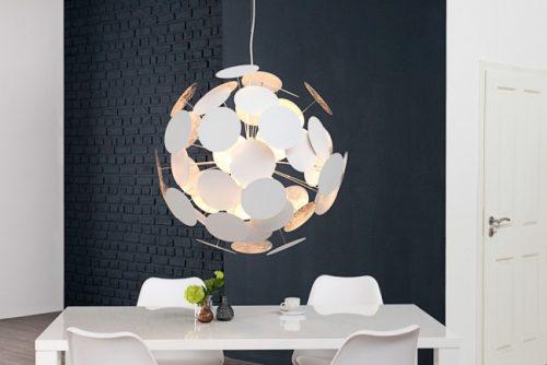Nowoczesna lampa wisząca do salonu Infinity