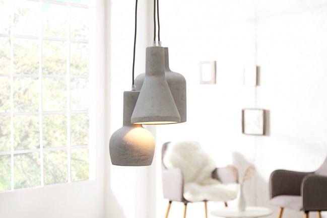 Nowoczesna lampa wisząca Cement Collection
