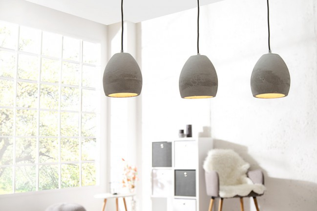 Nowoczesna lampa wisząca Cement Collection III