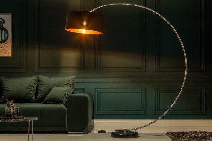 Ekskluzywna lampa podłogowa Python