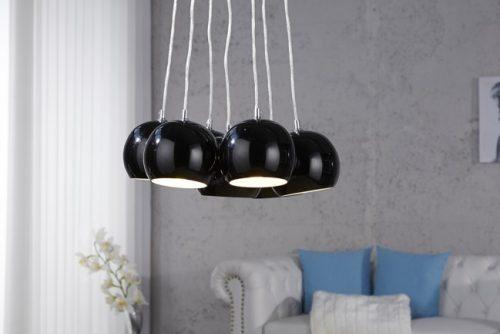 Nowoczesna lampa wisząca BLACK PEARLS
