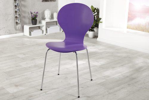 Krzesło do biura Form Lila zestaw 4szt
