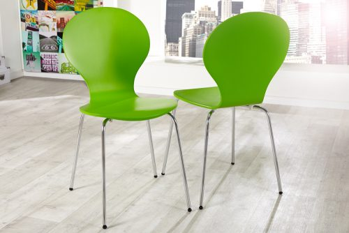 Krzesło do kuchni Form Green zestaw 4szt
