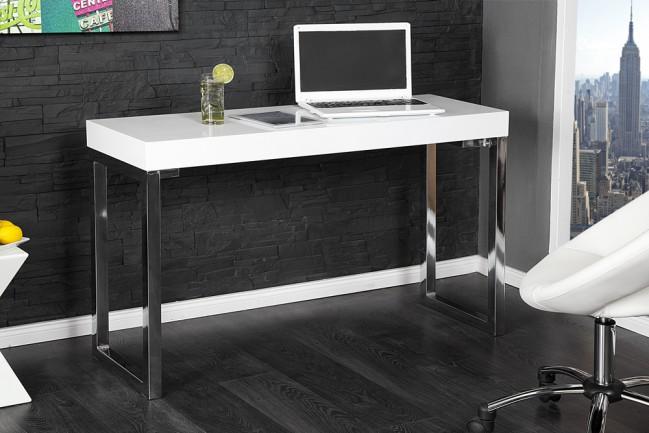 Biurko DESK 120cm białe nowoczesne lakierowane