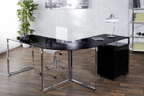 Nowoczesne biurko Big Deal czarne