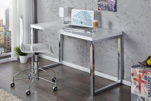 Biurko White Desk 120cm białe