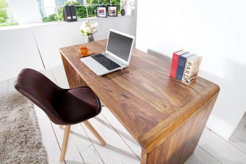 Ekskluzywne biurko z drewna Cube 150 cm