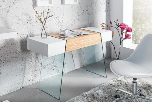 Biurko ze szkła ONYX 120 cm