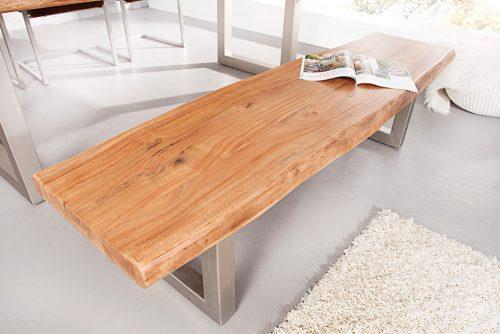 Ławka Mammut 170 cm akacja lite drewno
