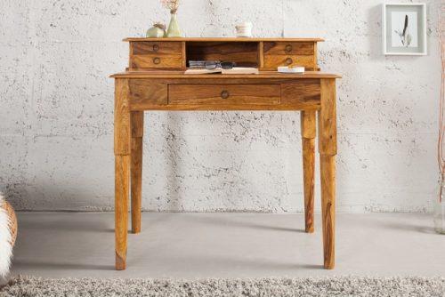 Ekskluzywne biurko z drewna Hemingway M