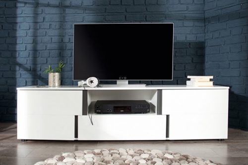 Nowoczesny stolik pod telewizor Arctic