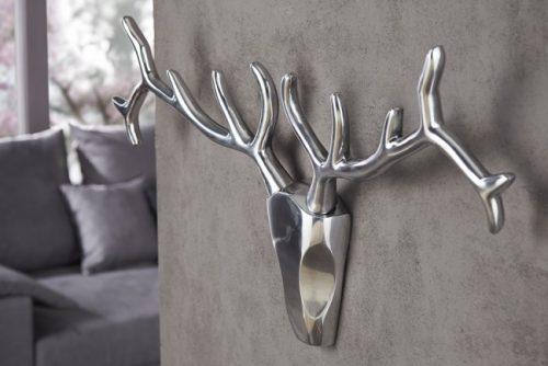 Nowoczesne poroże jelenia na ścianę Veado 90 cm