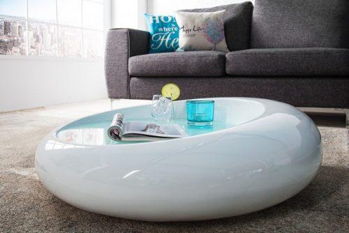 Nowczesny stolik do salonu w kształcie elipsy Elipse