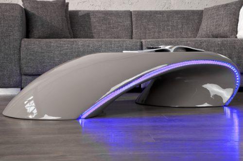 Ekskluzywny stolik do salonu Curve LED