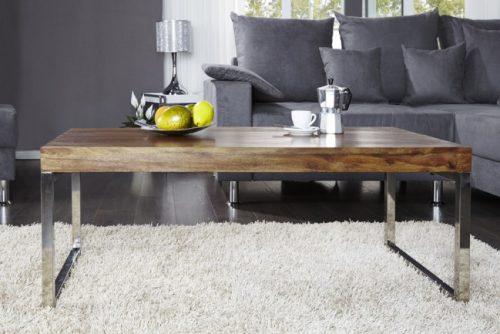 Stolik ELEMENTS 100 cm drewno kawowy ława nowoczesny