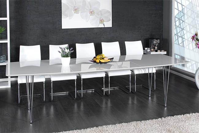 Świeże Nowoczesny stół do biura, salonu, metal, lakier - Continental 270 NL95