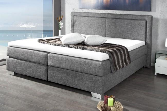Nowoczesne łóżko Do Sypialni 180 Cm X 200 Cm Stylowa Optyka Ramy