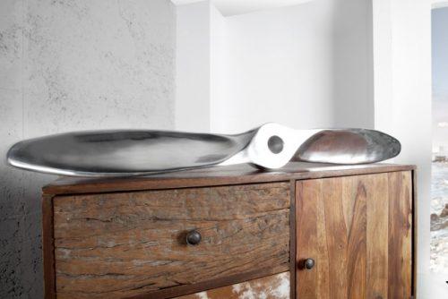 Eleganckie srebrne śmigło do pokoju - Śruba Alu Screw