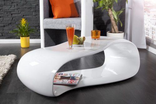 Stolik kawowy Organic Living 110 cm biały