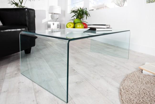Szklany stolik Fantome 110cm