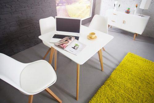 Nowczesny stolik pod laptopa w stylu skandynawskim Scandinavia 80 cm