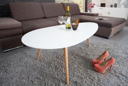 Elegancki stolik kawowy do salonu Scandinavia 115cm