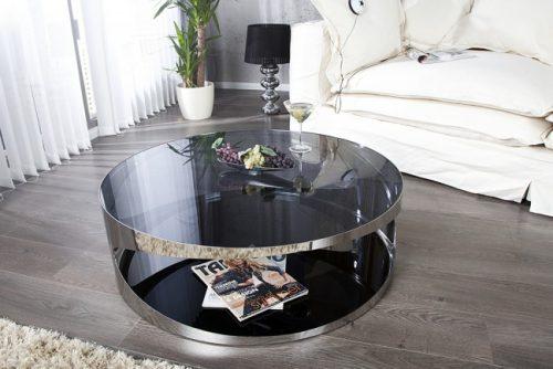 Ekskluzywny stolik kawowy do salonu Prometheus 80 cm