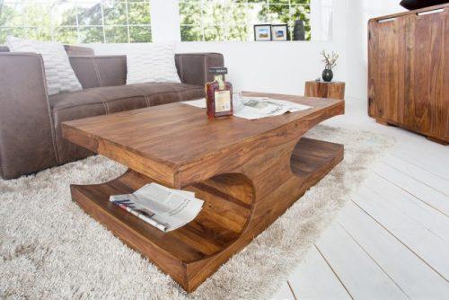 Stolik kawowy CUBE 120cm drewno