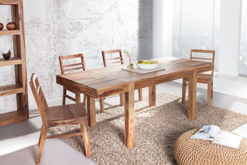 Stół Pure 120 cm – 200 cm rozkładany lite drewno
