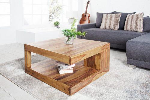 Drewniany stolik do salonu Giant 80cm